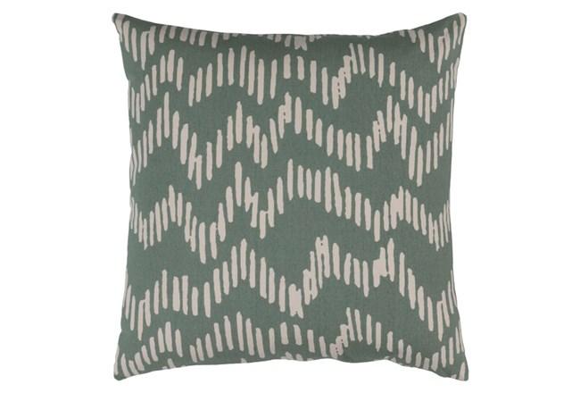 Accent Pillow-Charter Abstract Moss/Beige 18X18 - 360