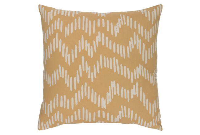 Accent Pillow-Charter Abstract Mocha/Beige 18X18 - 360