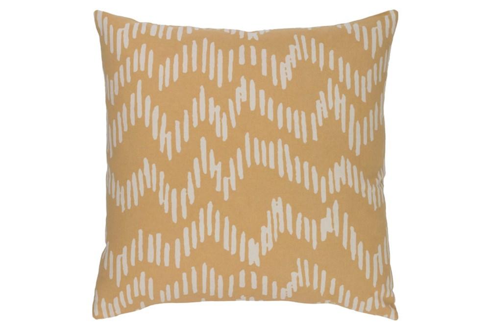 Accent Pillow-Charter Abstract Mocha/Beige 20X20