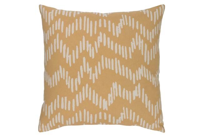 Accent Pillow-Charter Abstract Mocha/Beige 20X20 - 360