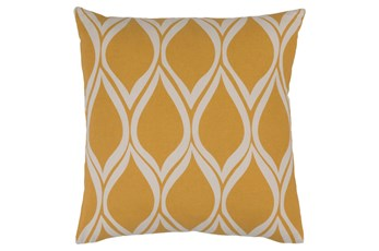 Accent Pillow-Nostalgia Geo Gold/Grey 20X20