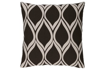 Accent Pillow-Nostalgia Geo Black/Grey 20X20