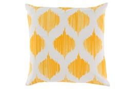Accent Pillow-Deven Geo Sunflower/Ivory 22X22