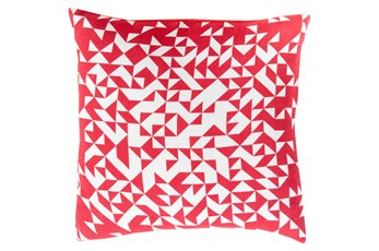 Accent Pillow-Eliza Pixel Magenta/Ivory 22X22