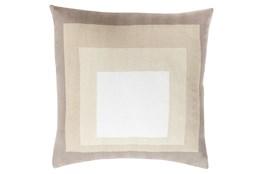 Accent Pillow-Seraphina Squares Natural Multi 20X20