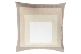Accent Pillow-Seraphina Squares Natural Multi 20X20