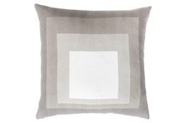Accent Pillow-Seraphina Squares Natural/Multi 20X20