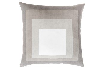 Accent Pillow-Seraphina Squares Natural/Multi 20X20