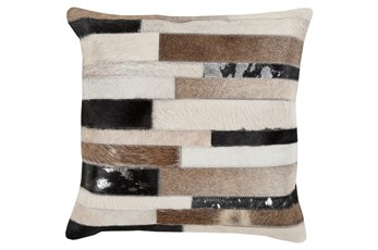 Accent Pillow-Stanton Hide 22X22