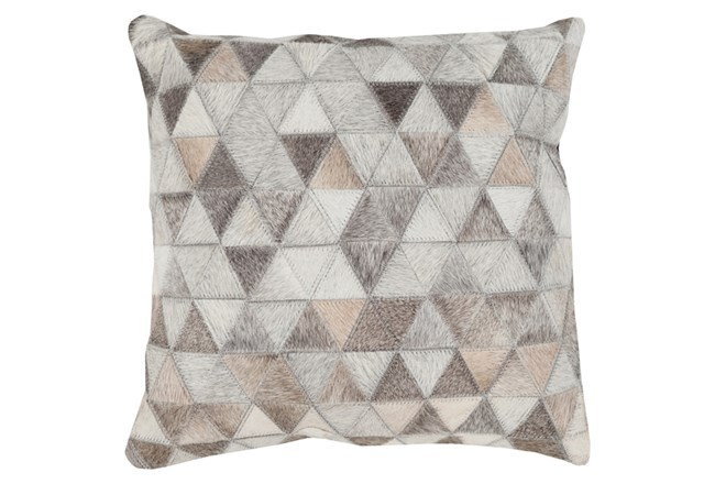 Accent Pillow-Rockefeller Hide 18X18 - 360