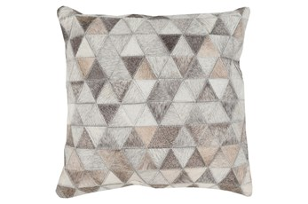 Accent Pillow-Rockefeller Hide 22X22