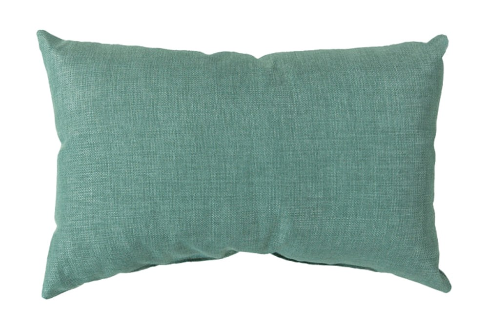Accent Pillow-Stella Solid Teal 13X20