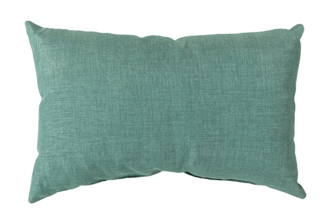 Accent Pillow-Stella Solid Teal 13X20 - 360