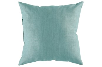 Accent Pillow-Stella Solid Teal 22X22