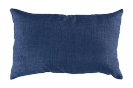 Accent Pillow-Stella Solid Navy 13X20