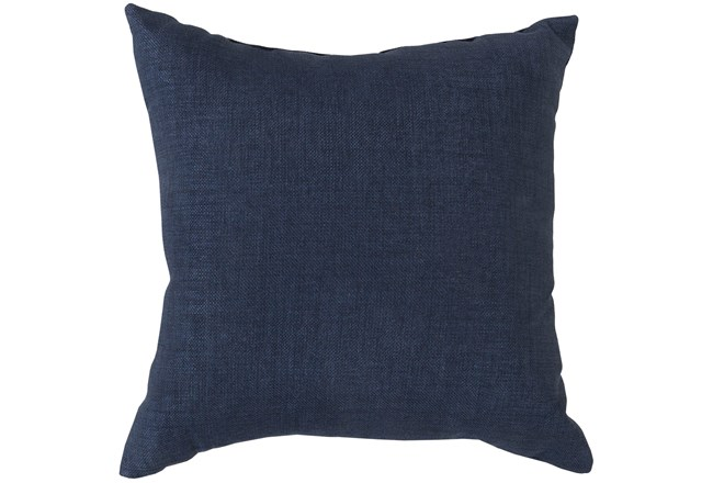 Accent Pillow-Stella Solid Navy 22X22 - 360