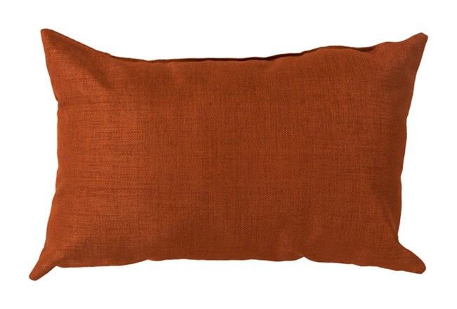 Accent Pillow-Stella Solid Rust 13X20 - 360