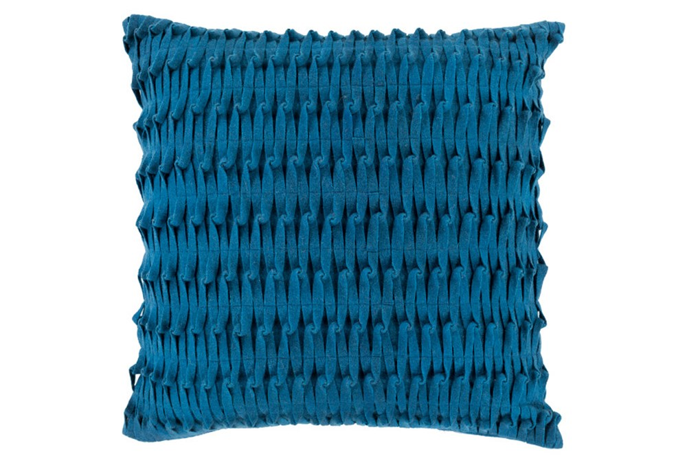 Accent Pillow-Carly Teal 22X22