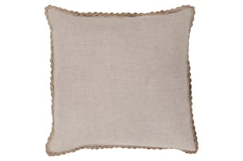 Accent Pillow-Alyssa Taupe 20X20