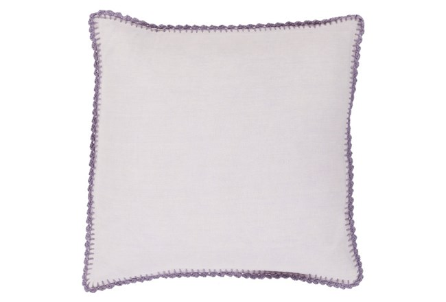 Accent Pillow-Alyssa Violet 18X18 - 360