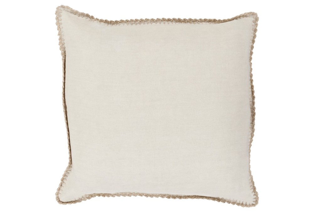 Accent Pillow-Alyssa Ivory 20X20