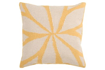 Accent Pillow-Farley Gold 22X22