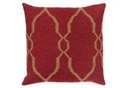 Accent Pillow-Mallory Burgundy 18X18