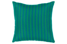 Accent Pillow-Brinley Stripe Teal 16X16