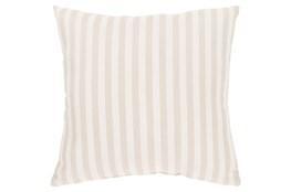 Accent Pillow-Brinley Stripe Ivory 20X20
