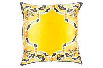 Accent Pillow-Geiko Multi Yellow 18X18
