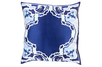 Accent Pillow-Geiko Multi Navy 18X18
