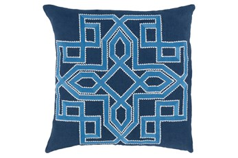 Accent Pillow-Nelson Indigo 20X20