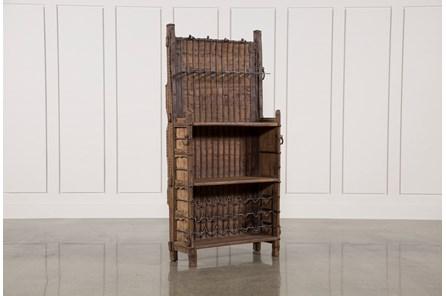 Brown Cart Rack