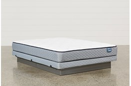 Carly Queen Mattress W/Low Profile Foundation