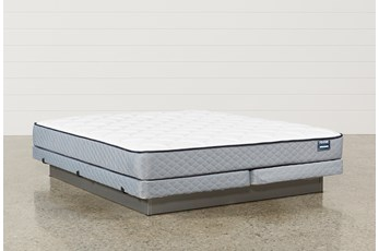 Carly California King Mattress W/Low Profile Foundation