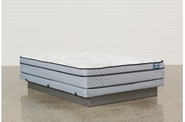 Joy Queen Mattress W/Low Profile Foundation