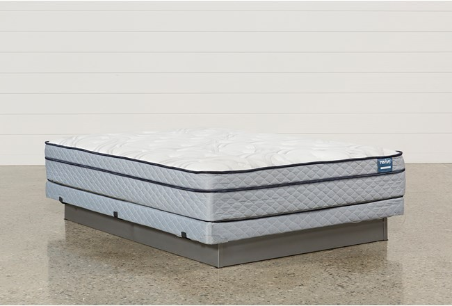 Joy Queen Mattress W/Low Profile Foundation - 360