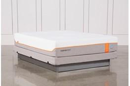 Tempur-Pedic Contour Elite Breeze 2.0 Queen Mattress W/Low Profile Foundation