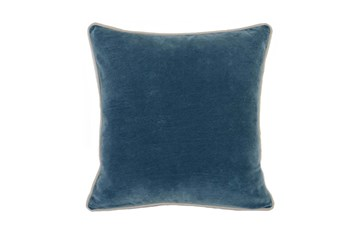 Accent Pillow-Marine Washed Velvet 18X18