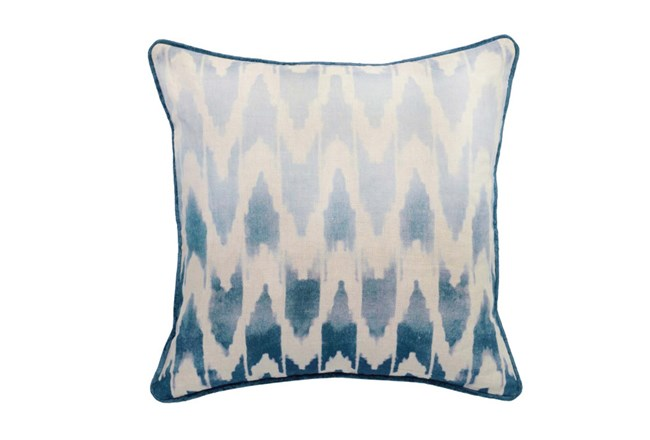 Accent Pillow-Peacock Ombre Ikat 22X22 - 360
