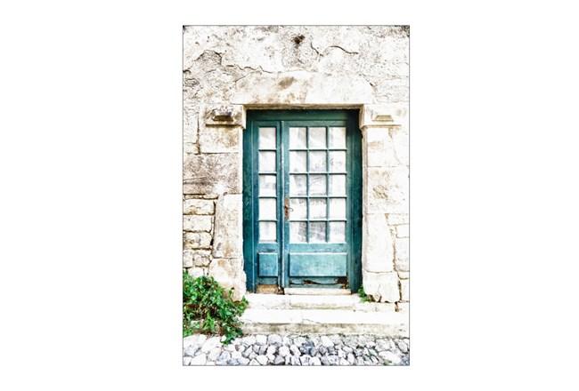 Picture-Turquoise Door - 360