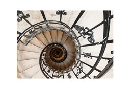 Picture-Spiral Stairs I