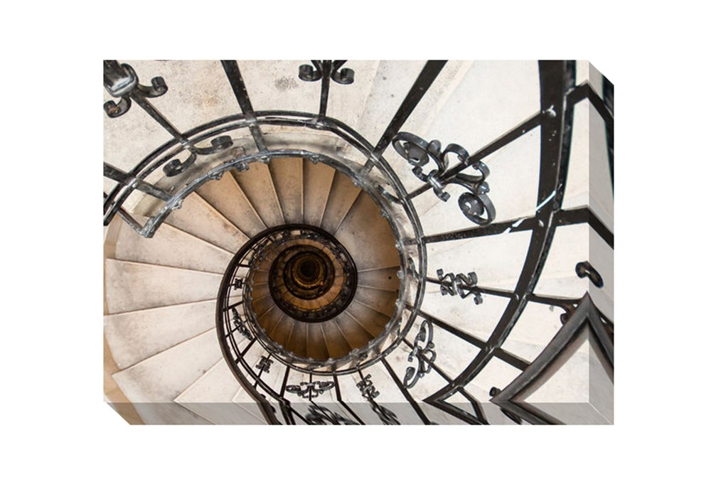 Picture-Spiral Stairs II