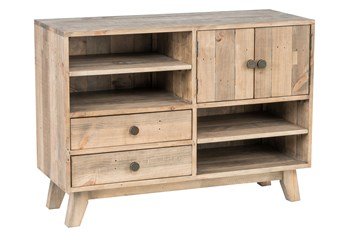 Natural 2-Drawer/2-Door Buffet