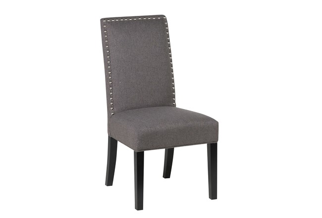 Charcoal Dining Chair - 360