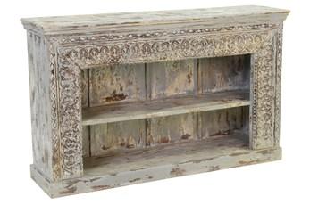 Antique Grey Bookcase