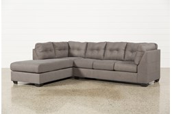 Maier Charcoal 2 Piece Sectional W/Sleeper & Left Facing Chaise