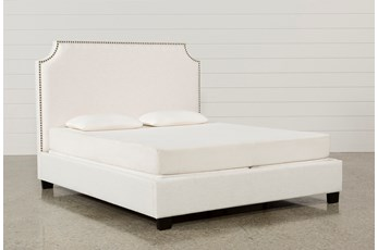 Sophia Eastern King Upholstered Platform Bed