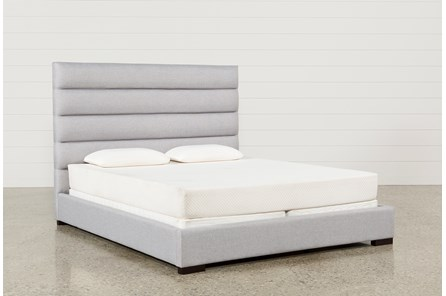 Hudson California King Upholstered Platform Bed