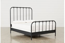 Knox California King Metal Panel Bed